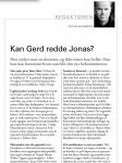 Faksimile Journalen 2/2013 (medlemsblad for Oslo legeforening)