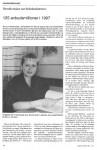 Helsebyråd Anne Herseth (H) ønsker mer helsekonkurranse. Faksimile Praktiserende spesialisters landsforenings tidsskrift Legekunsten 1/1997.