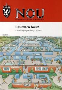"""Steine-utvalgets fremtidsrettede innstilling """"Pasienten først!"""". (NOU 1997/2)"""