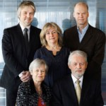 Riksrevisjonens Kollegium for perioden 2010-2013 Jørgen Kosmo (AP), Arve Lønnum (FrP), Annelise Høegh (H), Per Jordal (SP), Synnøve Brenden (AP)