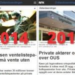 OUS benytter ikke eksisterende avtaler med private klinikker.
