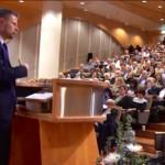 Helseminister Bent Høie legger frem sine visjoner for 2015 (Faksimile fra regjeringen.no)