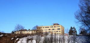 Kongsberg Sykehus (Wikimedia Commons)
