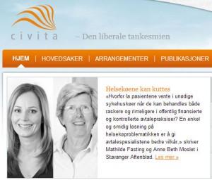 Civita setter søkelyset på avtalespesialistene