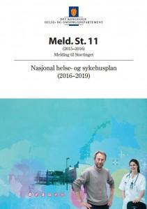Nasjonal Helse- og Sykehusplan 2016-2019