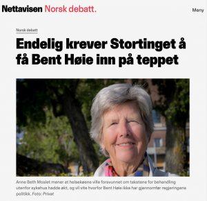 Endelig krever Stortinget å få Bent Høie inn på teppet