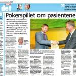 Pokerspillet om pasientene (Faksimile VG)